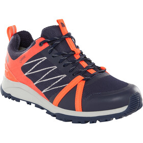 The North Face Litewave Fastpack II GTX Chaussures Femme, peacoat navy/fiery coral